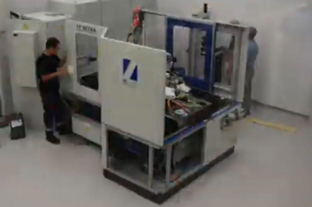 Maschinenaufbau MTC 650 bei Rhysearch - LT Ultra