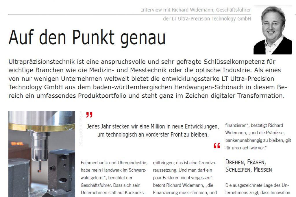 Auf den Punk genau_Wirtschaftsforum_LT Ultra
